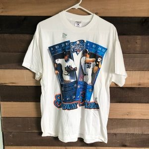 MLB Subway Series Yankees Red Sox Shirt Men's L